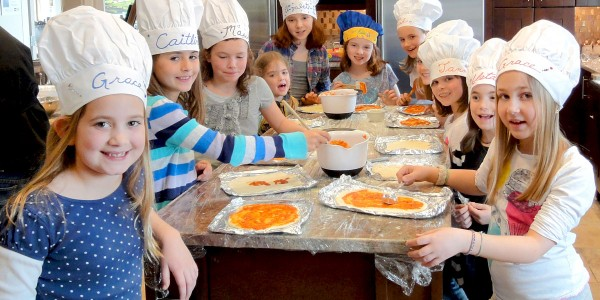 Kids' culinary party