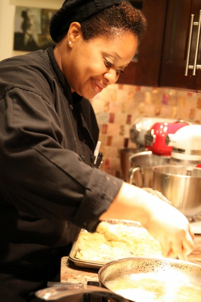 Chef Chiwishi Joy Abney.  Photo by Kate Sorrento
