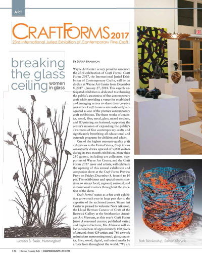 Craft Forms 2017 Chester County Life